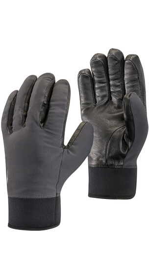Black Diamond Heavyweight Softshell Gloves SMOKE